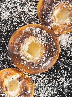 Печени райски ябълки със сметана - снимка на рецептата